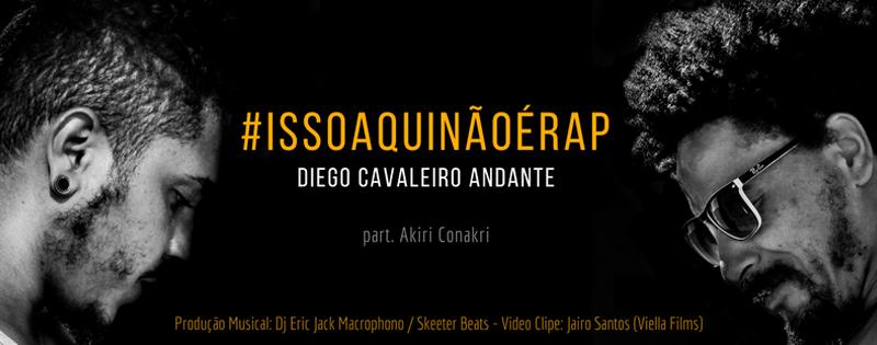 Conheçam o videoclipe  #ISSOAQUINÃOÉRAP e seu conteúdo contundente e necessário