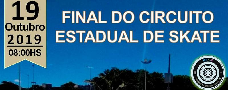 Final do Circuito Estadual de Skate do Espírito Santo