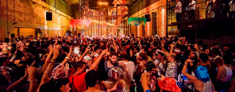 Casa das Caldeiras recebe a festa Pardieiro e Bloco Lua Vai em SP.